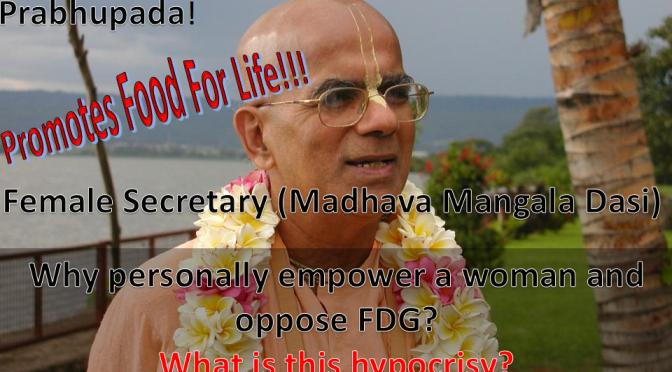 Gopal Krishna Goswami's got a Female Secretary? really?