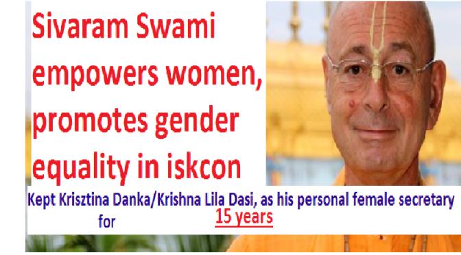 Sivaram Swami's Feminism Exposed!