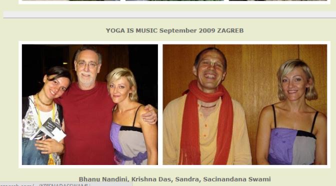 Sacinandana Swami Promotes Mayavadi Krishna Das