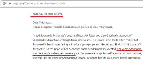 sadanandi secretary sns Kadamba kanana swami.png