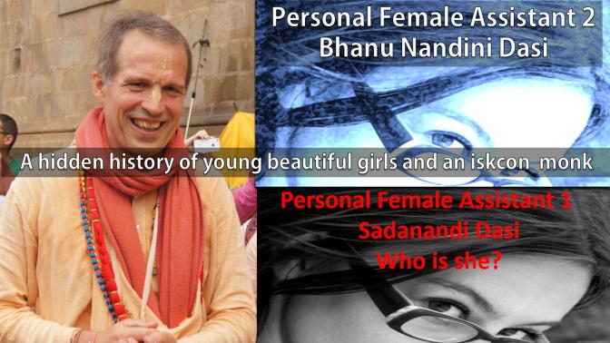 Sacinandana Swami's Female Secretary Sadanandi Dasi (Preceding Bhanu Nandini)