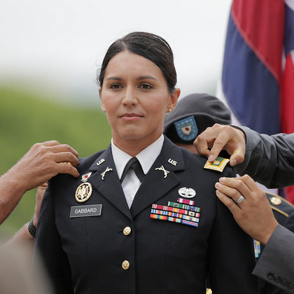 [Image: tulsi-gabbard-promoted-major.jpg?w=420&a...amp;crop=1]