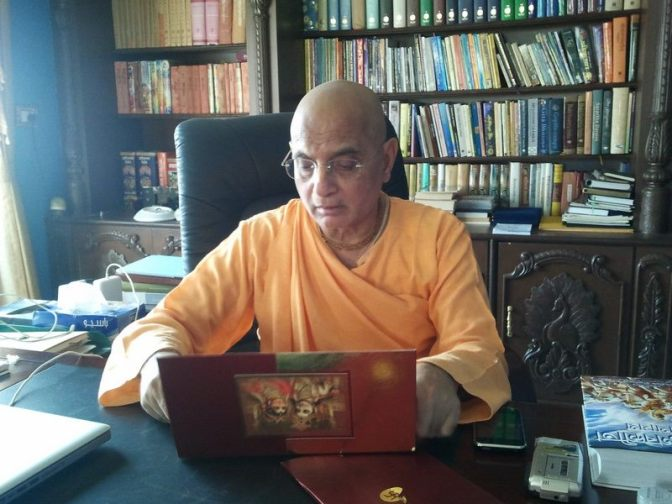 Bhakti Charu Maharaj Calls Hridayananda Maharaj A Deviant