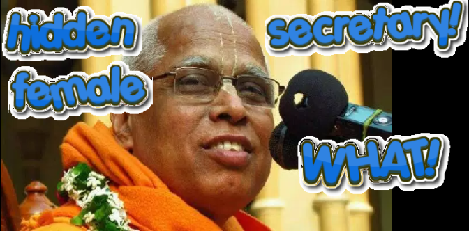 Lokanath Swami Info (had Female Secretary in '80s)