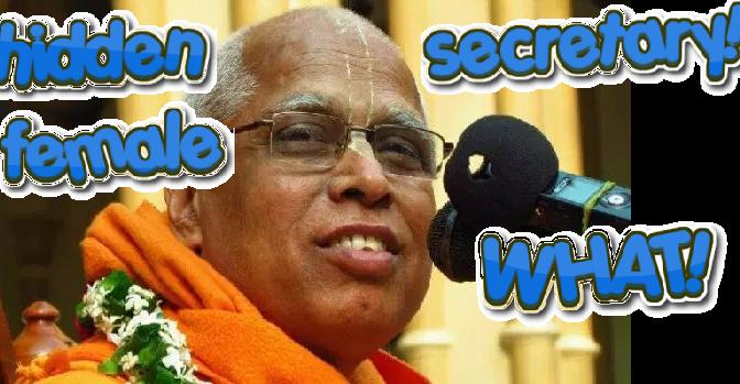 Lokanath Swami Info (had Female Secretary in '80s)